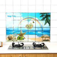 1270大号60×90防油贴纸厨房贴纸墙贴防油贴耐高温铝箔帖纸