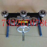 五轮接触线校直器得力接触网工具器铜轮整弯器