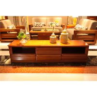 西安品牌实木家具产品中心琥珀系列-茶几