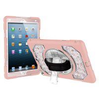适用iPad 9.7 硅胶炫花保护套 批发三防真花平板保护壳
