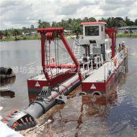 广东尾矿库抽沙船设计原理 12寸全液压尾矿库小型抽沙船施工
