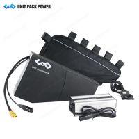 厂家供应新款山地车动力锂电池组,三角包款锂电池36V48V锂电池