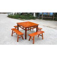 佛山市兴泰德盛实木餐桌椅的价格/实木餐桌椅圆桌 厂家直销