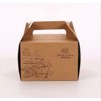 上海 牛皮纸盒 手提西点盒 芝士蛋糕盒定做 牛皮纸包装盒厂家