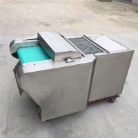 不锈钢型萝卜切丝机 云南年糕切片机厂家 启航饵块切片机