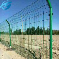 养殖场防护栏网 双边丝隔离网