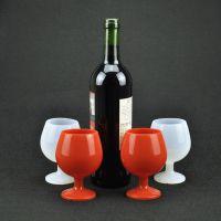 新品高脚杯 硅胶酒杯 硅胶高脚 防滑防摔旅行杯 厂家批发