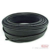 Driflex包塑金属软管JSH型阻燃 穿线管 电缆保护PVC绝缘套管 蛇皮软管