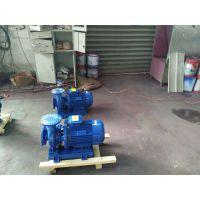 甘肃酒泉卧式管道泵ISW40-200I 口径40 扬程50 流量12.5 功率5.5 KW