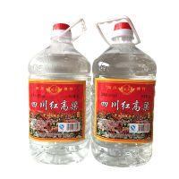 产地直销 精选42度1×4L四川红高粱固液法白酒 凰贡牌桶装白酒
