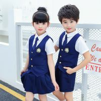 夏季新款六一儿童班服小学生校服全棉男女童幼儿园园服套装合唱服