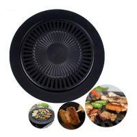 韩式烤肉盘不粘烤盘卡式炉烧烤盘家用无烟烤盘不粘烧烤盘 KRP-204