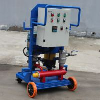 艾铂锐厂家供应 LUC系列精细滤油车 筒式高精度滤油机
