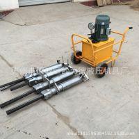 混凝土构件墙体拆除设备液压分裂机|电动混凝土劈裂机|千吨劈裂力