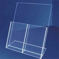 订做有机玻璃文件架资料架 办公用品展示架文具收纳架