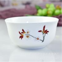 唐山瓷亿美 批发陶瓷餐具 家用6寸奥碗创意骨瓷面碗礼品沙拉碗 百货定制LOGO
