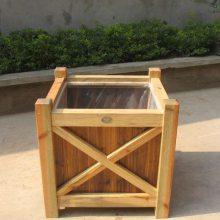 新疆供应防腐木花箱,栅栏,围栏各式各样