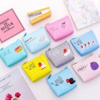 韩国创意卡通皮质零钱包 迷你拉链手拿包 简约学生钥匙包小钱包
