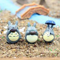 宫崎骏动漫zakka 树脂龙猫 手工饰品配件 苔藓微景观配件