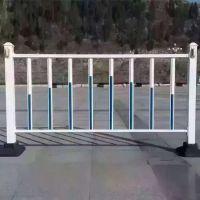 城市公路隔离栏 绿化池护栏 镀锌管喷塑护栏