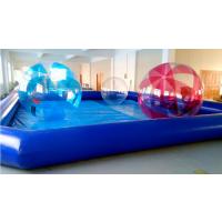 定制大型水上乐园充气水上产品充气水池儿童游泳池