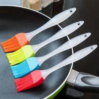 1016 分体式硅胶油刷子 水晶手柄烧烤刷蛋糕厨房烘焙工具