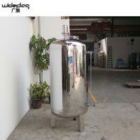 广旗厂家直销食品级无菌储罐 不锈钢双面抛光储水罐 卫生级无菌水箱