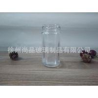 厂家定制70ML玻璃圆柱调料瓶 辣椒粉胡椒面调味瓶 可配马口铁盖