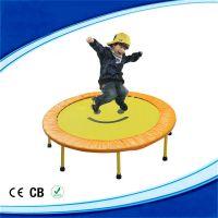 厂家直销儿童成人家用蹦蹦床对折跳床带扶手弹簧蹦床