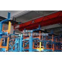 浙江大型管材存放架 伸缩悬臂式管材货架价格 型材库专用货架