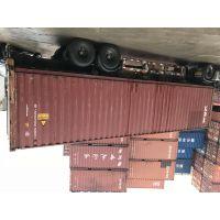 二手固定式集装箱30吨冷藏集装箱 钢制集装箱冷藏库租赁