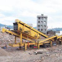 建筑垃圾粉碎项目,移动式筛分破碎机械行业前景