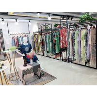 晒谷场19夏民族复古风阔太太真丝系列连衣裙高端品牌女装一手货源供应