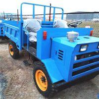 襄阳运货四轮拖拉机 大功率四轮车 电启动农用拉砖四不像
