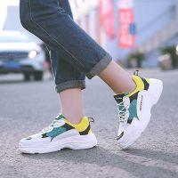 名将韩版运动鞋女2018年新款女鞋ins超火的绑带鞋老爹鞋时尚潮鞋