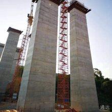 工程安全爬梯 工地施工爬梯 桥梁安全爬梯 基坑安全爬梯图片