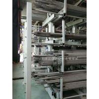 安徽金属制品企业配套货架 伸缩式悬臂货架设计方案