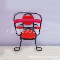 厂家直销自行车儿童座椅电动车座椅宝宝座椅高护栏全围后置座椅