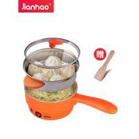坚好多功能蒸蛋器煮蛋器煎蛋器迷你自动断电煎蛋锅家用煎锅早餐机