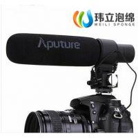 东莞厂家直销单反摄像机专用海绵话筒套 麦克风海绵罩