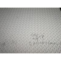 无锡供应太钢原装304花纹板防滑板一面平一面凸