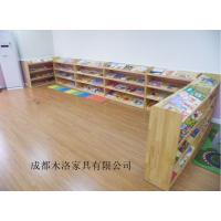 康定/西昌幼儿园玩具柜定做 成都木洛舒适贴心