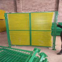 绿色铁丝围网 住宅区隔离网 工厂车间隔离网