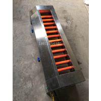 瑞铃达150*40*25中间管子燃气烧烤炉直管液化气烤串炉子中间火燃气烤炉