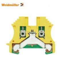 魏德米勒 接地型接线端子,螺钉联接,2.5mm?,300A(2.5mm?),绿/黄;WPE 2.5