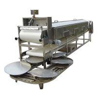 可调厚薄自动凉皮机 擀面皮机 食品厂专业大型凉皮粉皮机生产线