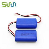 18650-2P2S安防设备锂电池5000mAh充电电池7.4V 定制12V锂电池组 智能机器人锂电