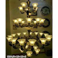 欧式吊灯客厅灯现代简约锌合金卧室大厅卧室书房餐厅简欧创意灯具