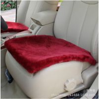 新款汽车羊毛坐垫冬季毛绒座垫 秋冬坐垫批发羊剪绒坐垫小三件