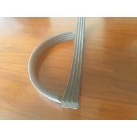 非标按需定制硅胶发泡胶条 单面带胶异形硅胶条生产厂家